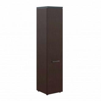 Шкаф колонка с глухой дверью и топом