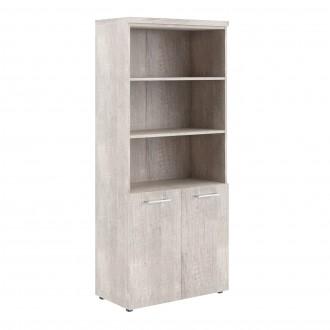 Шкаф с 1 комплектом глухих малых дверей и топом