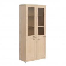 Шкаф высокий комбинированный