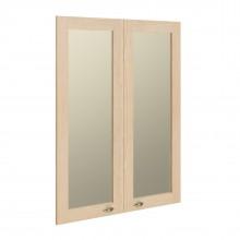 Двери рамочные стеклянные