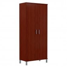 Шкаф высокий с глухими дверьми