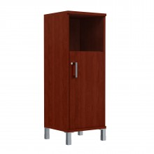 Шкаф колонка средняя с замком в глухой малой двери