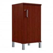 Шкаф колонка низкая с замком в глухой малой двери