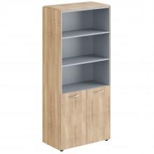 Шкаф с 1 комплектом глухих малых дверей