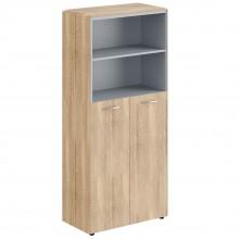 Шкаф с глухими средними дверьми