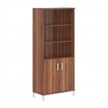 Шкаф высокий с глухими малыми дверьми