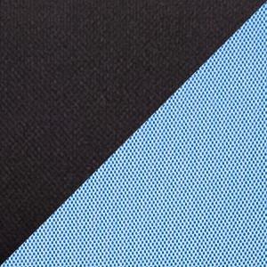 черный/голубой